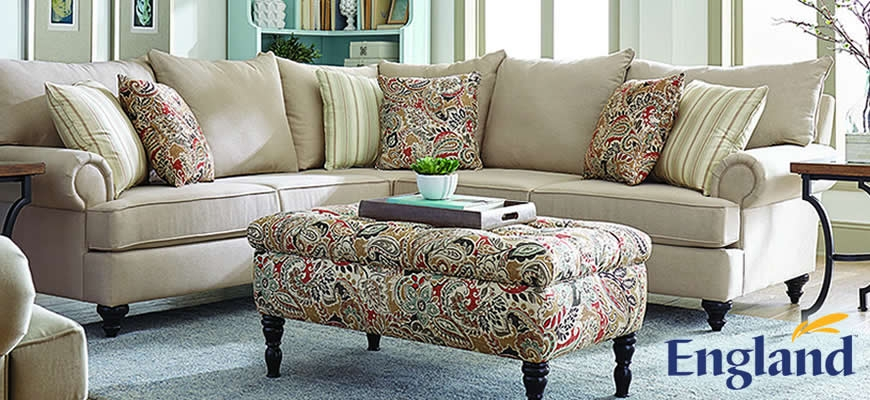 Beautiful, Stylish upholstered furniture by England